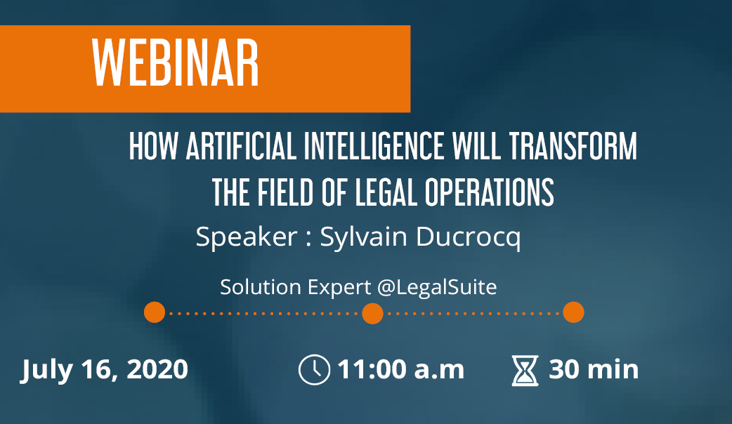 How Artificial Intelligence Will transform The Field of Legal Operations?